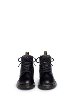 Dr. Martens 'Padley Mix' kids leather boots