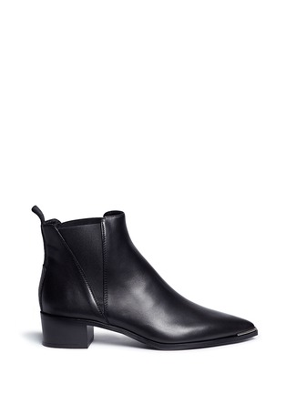 Main View - Click To Enlarge - Acne Studios - 'Jensen' metal trim ankle boots