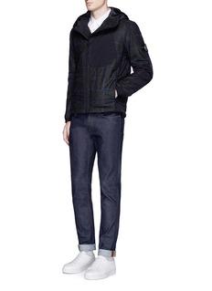 Stone IslandHouse check PrimaLoft® padded jacket