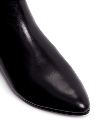 Detail View - Click To Enlarge - Stella Luna - Leather ankle boots