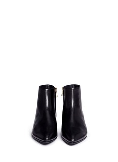 Stella Luna Leather ankle boots