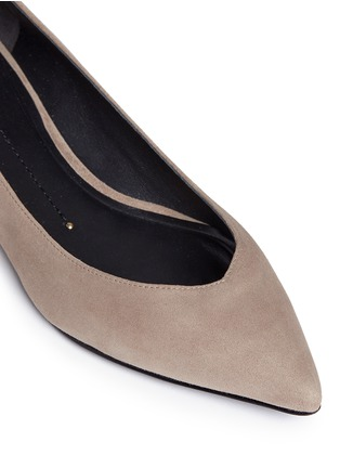 Detail View - Click To Enlarge - Stella Luna - Suede skimmer flats