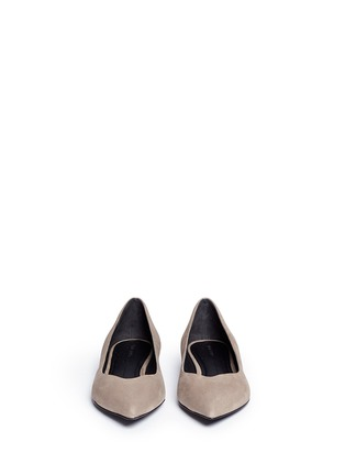 Figure View - Click To Enlarge - Stella Luna - Suede skimmer flats