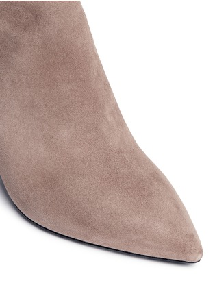 Detail View - Click To Enlarge - Stella Luna - Suede ankle boots
