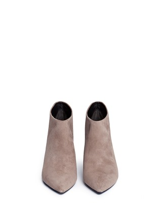 Figure View - Click To Enlarge - Stella Luna - Suede ankle boots
