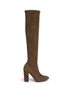 Stella Luna Suede knee high boots