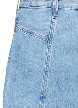 Detail View - Click To Enlarge - Current/Elliott - 'The Skater' denim skirt