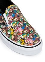 x Nintendo 'Classic' character print kids slip-ons