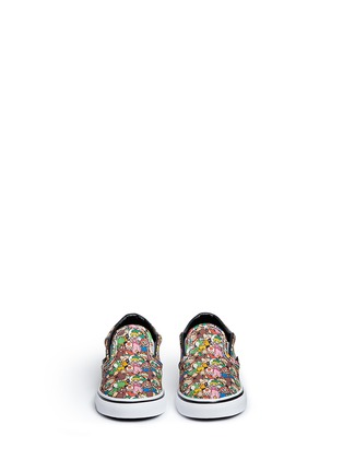 Figure View - Click To Enlarge - Vans - x Nintendo 'Classic' character print canvas toddler slip-ons