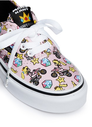 Detail View - Click To Enlarge - Vans - x Nintendo 'Authentic' character print canvas kids sneakers