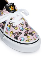 x Nintendo 'Authentic' character print canvas kids sneakers
