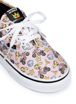 x Nintendo 'Authentic' character print canvas toddler sneakers