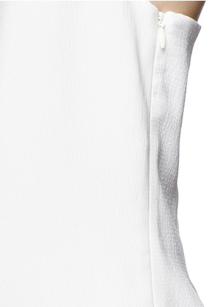 Detail View - Click To Enlarge - C/Meo Collective  - 'Same Road' crépon halter top