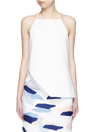 Main View - Click To Enlarge - C/Meo Collective  - 'Same Road' crépon halter top