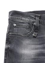 'Skate' distressed skinny jeans