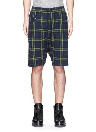 细节 - 点击放大 - R13 - CORNELL格纹衬衫短裤套装