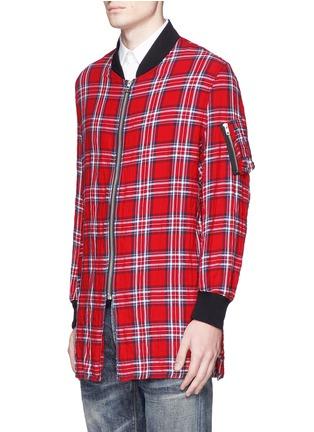 正面 -点击放大 - R13 - 拼色大格纹衬衫式夹克