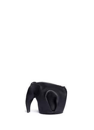 Back View - Click To Enlarge - Loewe - 'Elephant Minibag' leather shoulder bag