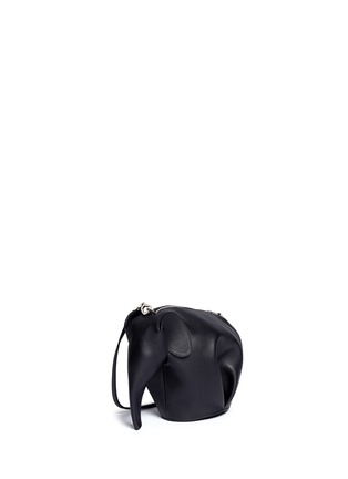 Front View - Click To Enlarge - Loewe - 'Elephant Minibag' leather shoulder bag