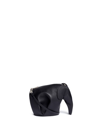 Main View - Click To Enlarge - Loewe - 'Elephant Minibag' leather shoulder bag