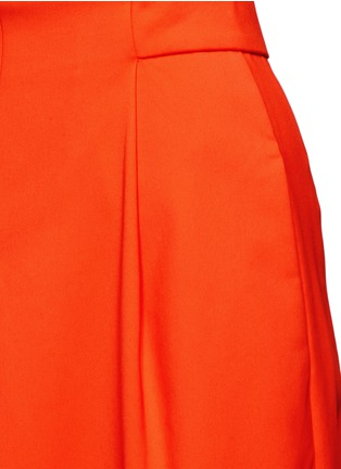Detail View - Click To Enlarge - Tibi - 'Agathe' inverted pleat culottes