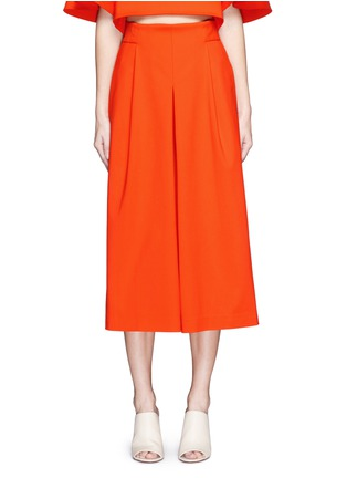 Main View - Click To Enlarge - Tibi - 'Agathe' inverted pleat culottes
