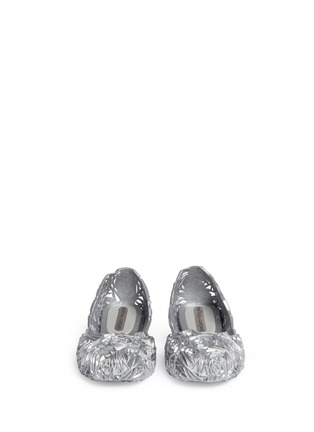Figure View - Click To Enlarge - Melissa - x Campana 'Fitas' rose PVC flats
