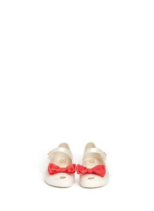 模特儿示范图 - 点击放大 - MELISSA - 幼儿款蝴蝶结果冻鞋
