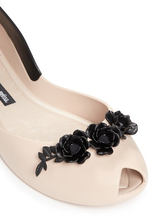 Detail View - Click To Enlarge - Melissa - x Alexandre Herchcovitch 'Flower Queen' PVC flats