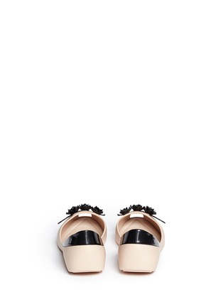 Back View - Click To Enlarge - Melissa - x Alexandre Herchcovitch 'Flower Queen' PVC flats
