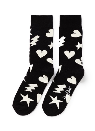 Main View - Click To Enlarge - Happy Socks - 'Punk Love' socks