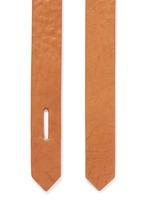 'Laryn' leather loop belt