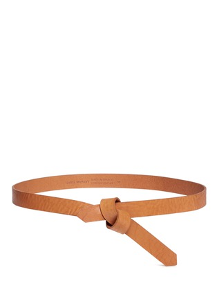 Main View - Click To Enlarge - Isabel Marant - 'Laryn' leather loop belt