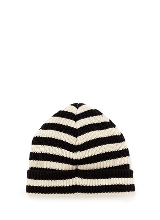 Figure View - Click To Enlarge - Scotch & Soda - 'Bob Blauw' stripe cotton beanie