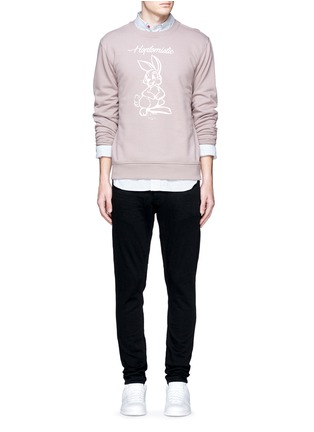 Figure View - Click To Enlarge - Denham - 'Shank' carrot fit jeans