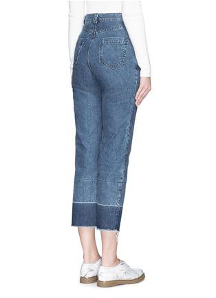 Back View - Click To Enlarge - Rachel Comey - 'Legion' raw edge cuff slim leg jeans