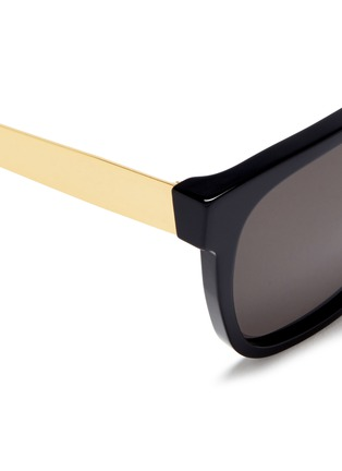 Detail View - Click To Enlarge - SUPER - 'People' D-frame acetate sunglasses