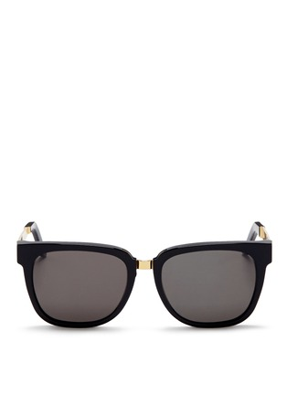 Main View - Click To Enlarge - SUPER - 'People' D-frame acetate sunglasses