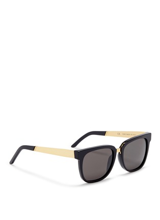 Figure View - Click To Enlarge - SUPER - 'People' D-frame acetate sunglasses