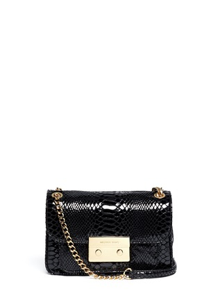 Main View - Click To Enlarge - Michael Kors - Sloan small python embossed leather bag