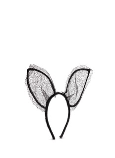 MAISON MICHEL 'Heidi' lace rabbit ear headband