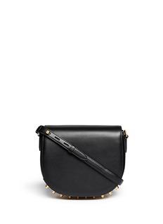 ALEXANDER WANG Lia stud leather messenger bag