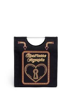 CHARLOTTE OLYMPIANeon shopper