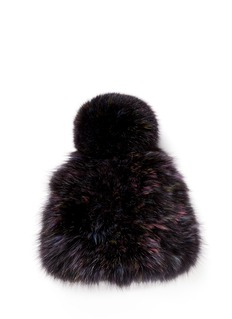 HOCKLEY 'Rosella' fox fur pompom beanie