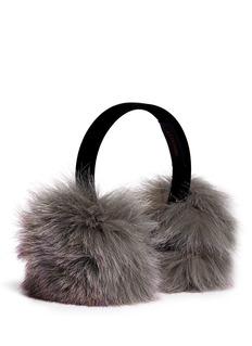 HOCKLEY'Icarus' fox fur earmuffs