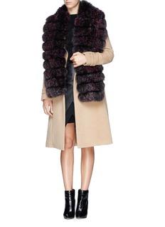 HOCKLEY'Barbet' fox fur scarf