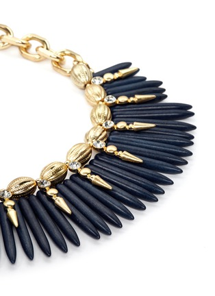 Detail View - Click To Enlarge - Kenneth Jay Lane - Spike chain necklace
