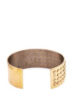 JACQUELINE RABUN 'Wyatt More Love' 18k yellow gold cuff