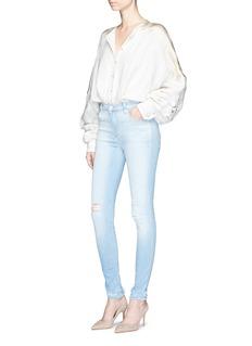 J Brand'Maria' high rise skinny denim pants