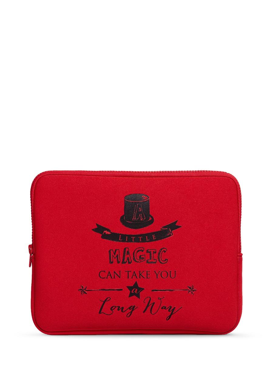 Little Magic neoprene iPad case by Cecilia Ma